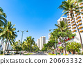 夏威夷 懷基基海灘 藍天 20663332