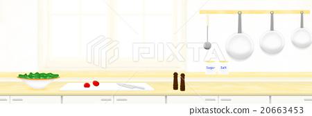 "Illustration material ""kitchen"" 20663453"