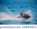 Young Man on Jet Ski 20664641