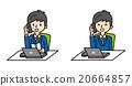 公司职员 职员 上班族 20664857