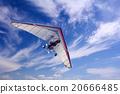 Motorizedr paraglider flying 20666485