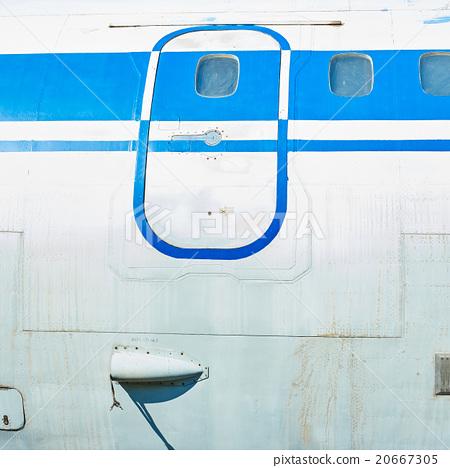 Fuselage of old soviet passenger aircraft 20667305