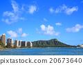 夏威夷 威基基海灘 鑽石頭 20673640