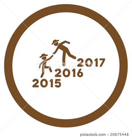Years Guys Help Icon 20675448
