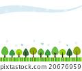 森林 樹林 框架 20676959