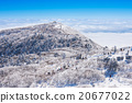 Landscape in winter, Deogyusan mountain in Korea 20677022