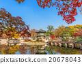 Gyeongbokgung Palace in autumn,South Korea. 20678043