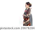 ผู้หญิงกิโมโน 20678284