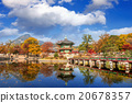 Gyeongbokgung Palace in autumn,South Korea. 20678357