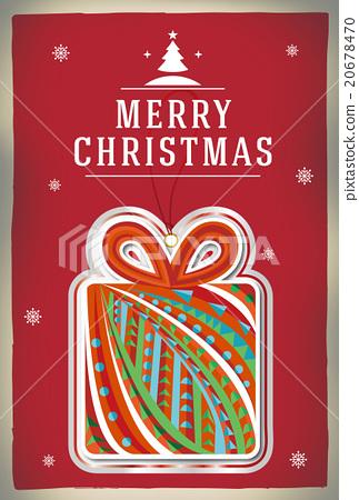 聖誕節 聖誕元素 卡片 20678470