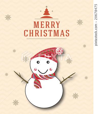 聖誕節 聖誕元素 卡片 20678475