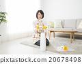 女性 日本插花藝術 女 20678498