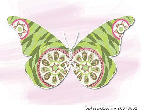 裝飾畫 蝴蝶 20678802