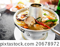 Tom Yum fish spicy soup with fresh water fish 20678972