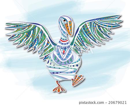 裝飾畫 鴨子 20679021