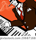 Jazz piano player 20687168
