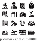 Travel icon set 20690800