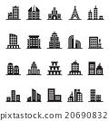 building icon set 20690832