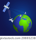 satellite, telecommunications, globe 20693238