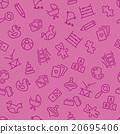 toys seamless pattern 20695406