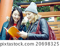 外國婦女在東京和日本婦女觀光 20698325