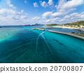 akajima, island, blue 20700807