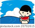 summer, blue water, marine 20702615