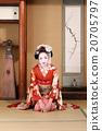 greeting, kimono, kabuki 20705797