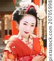 kabuki, beautiful woman, kimono 20705998
