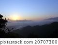 雲海 雲彩 雲 20707300