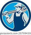 spanner, wrench, repairman 20709439