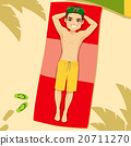 毛巾 男性 男人 20711270