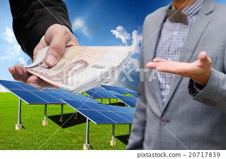 Solar energy business concept 20717839