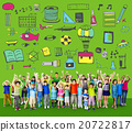 School Activity Sport Hobby Leisure Game Concept 20722817