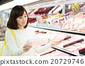 超级 超市 购物 20729746