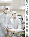 超级 超市 员工 20729750
