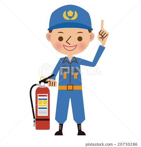 消防員 男人 男 20730286