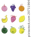 水果 香蕉 葡萄 20731964