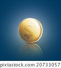 硬幣 錢幣 黃金 20733057