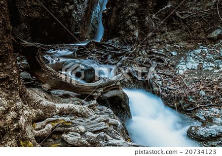 Caledonia Waterfalls in Platres village. 20734123