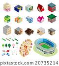 建築 圖標 Icon 20735214