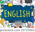 English British England Language Education Concept 20735663