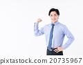 商务人士 商人 男性白领 20735967