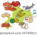 Hokkaido food ingredients set 20746812