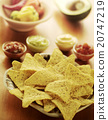 Nachos and dips 20747219
