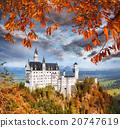 新天鵝堡 城堡 德國 20747619