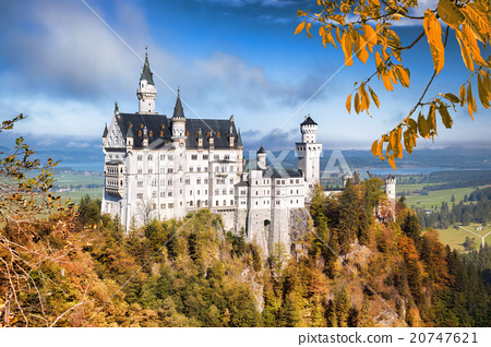 Neuschwanstein castle in Bavaria, Germany 20747621