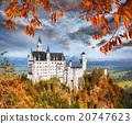 新天鵝堡 城堡 德國 20747623
