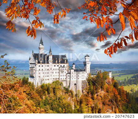 Neuschwanstein castle in Bavaria, Germany 20747623