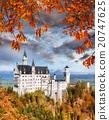 新天鵝堡 城堡 德國 20747625